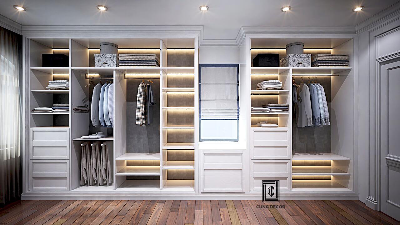 thiết kế tủ quần áo 05