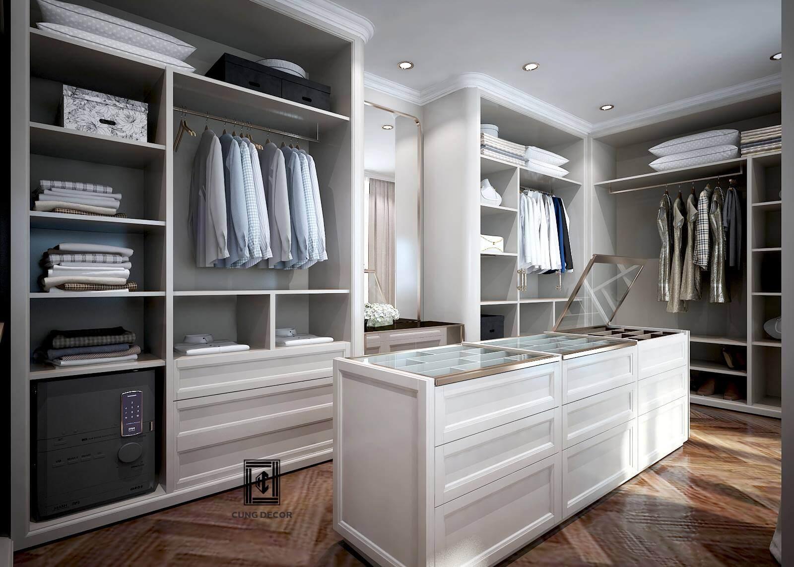thiết kế tủ quần áo 04
