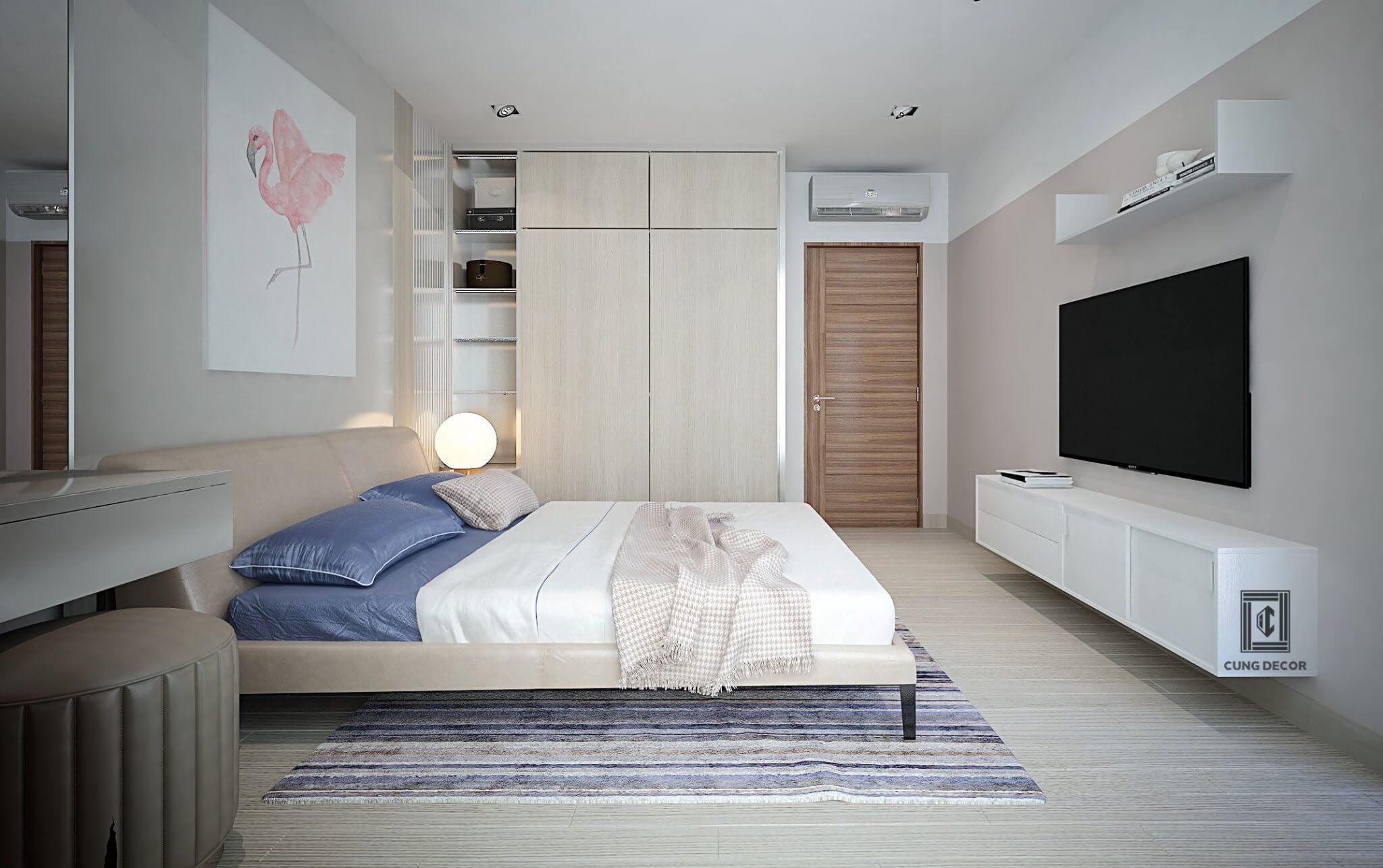 giường ngủ sang trọng