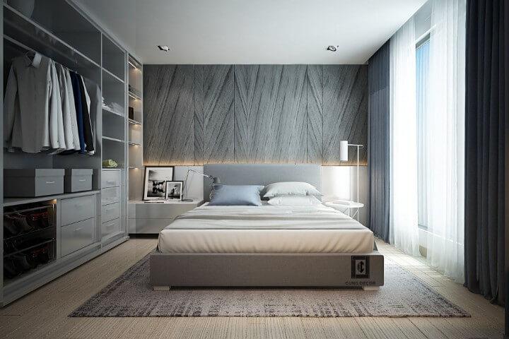 hướng giường ngủ hợp phong thủy