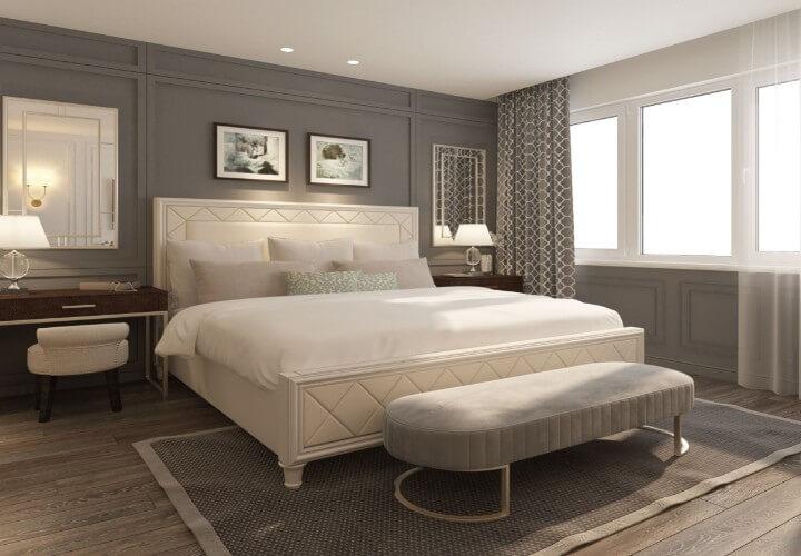giường ngủ chung cư đẹp