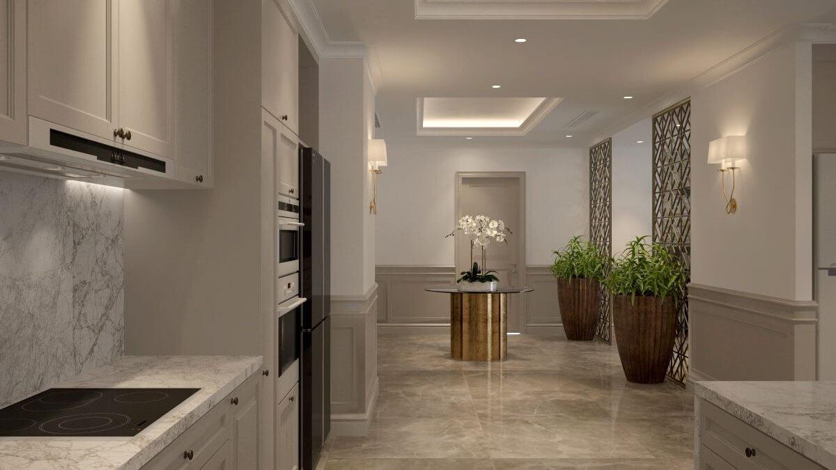 thiết kế nội thất chung cư 100m2 2