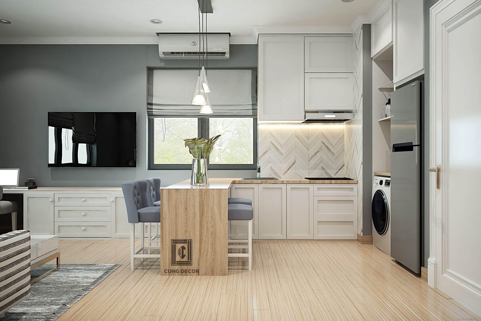 thiết kế nội thất cho căn hộ