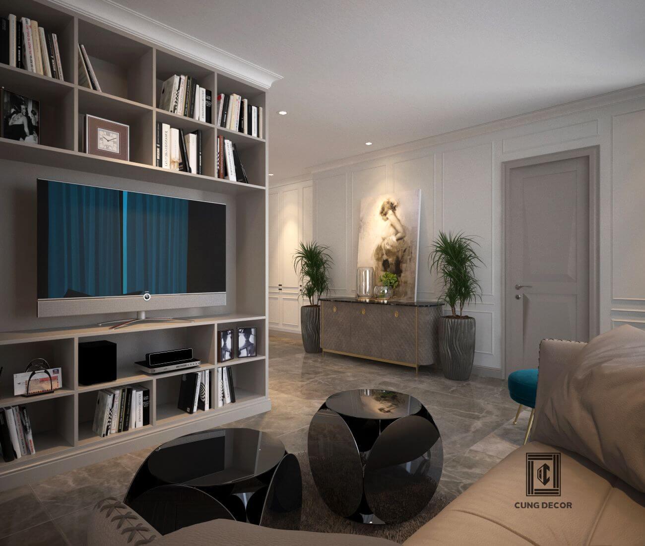 thiết kế và thi công căn hộ