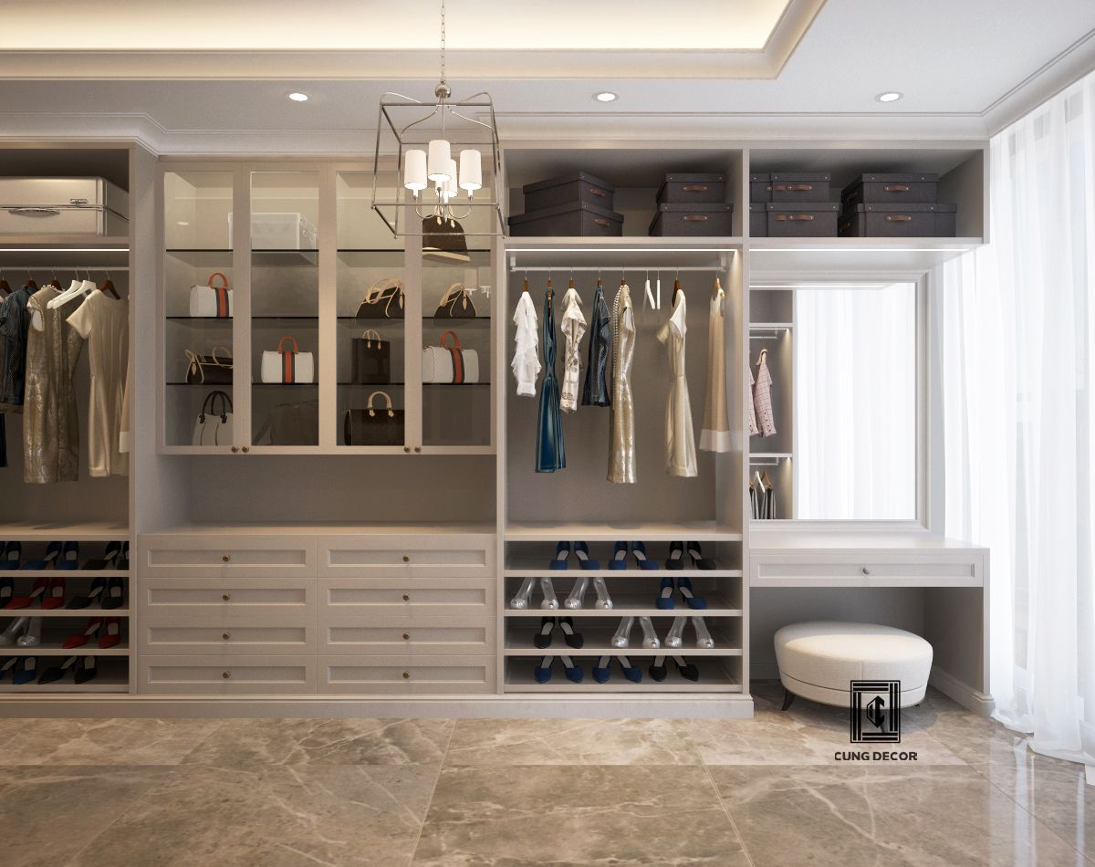 thiết kế tủ đồ tiện lợi