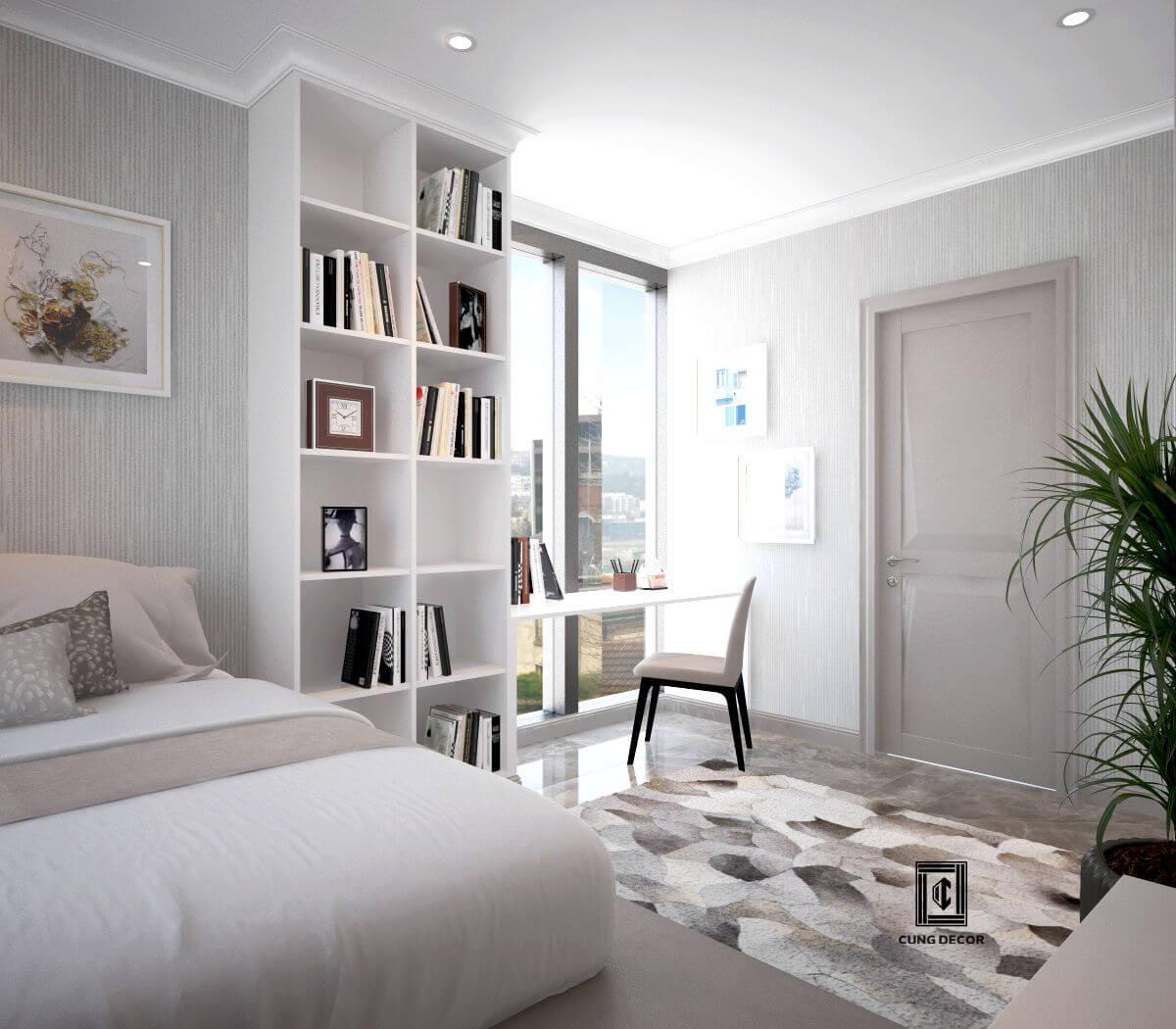 thiết kế phòng ngủ cho chung cư