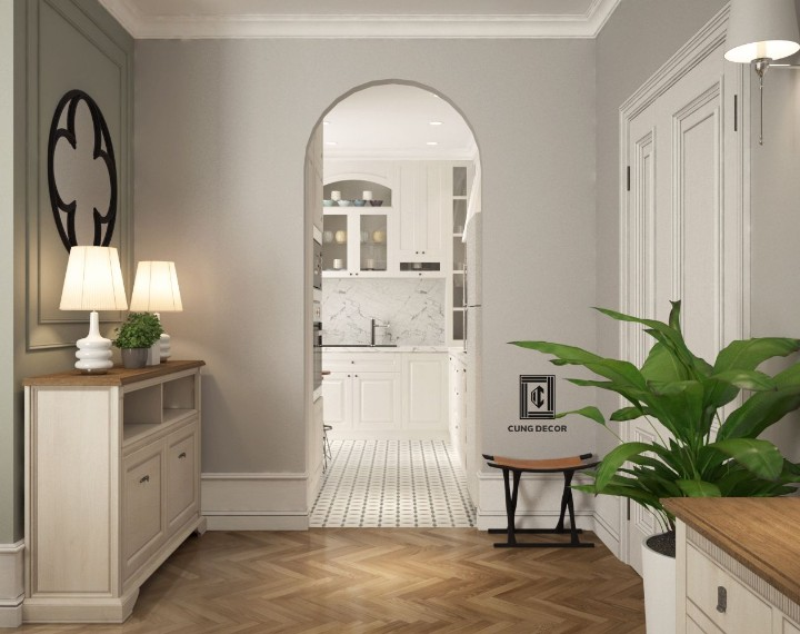không gian nội thất căn hộ đẹp