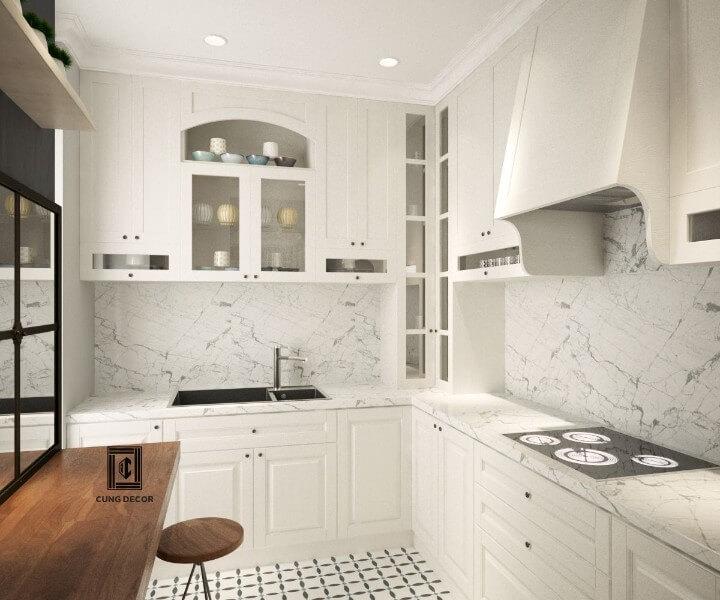 nhà bếp chung cư đẹp
