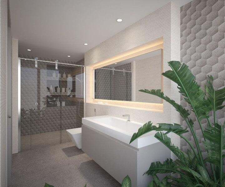 trồng cây xanh trong nhà vệ sinh