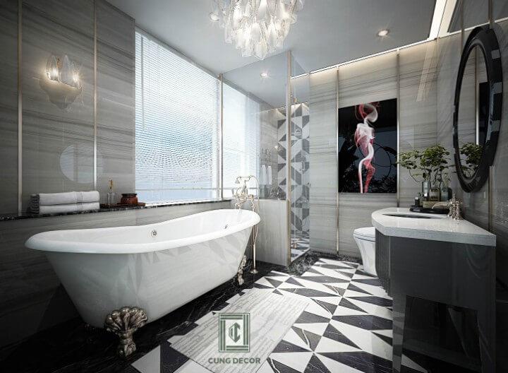 thiết kế nội thất nhà tắm đẹp 1