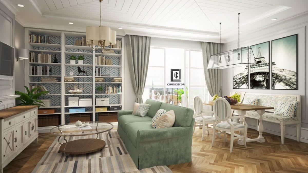 thiết kế nội thất nhà 1