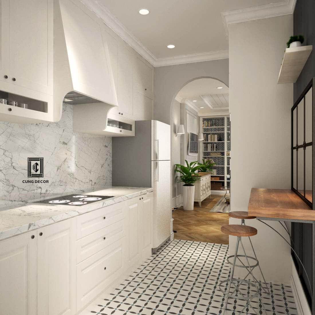 thiết kế nội thất phòng bếp 3