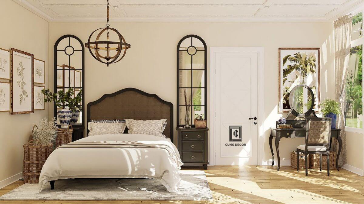 thiết kế nội thất phòng ngủ 4
