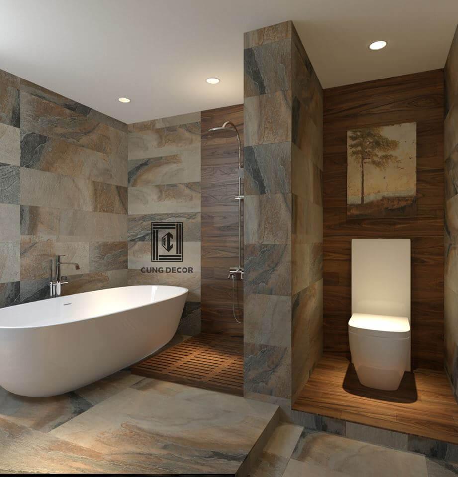 phòng tắm đẹp sang trọng