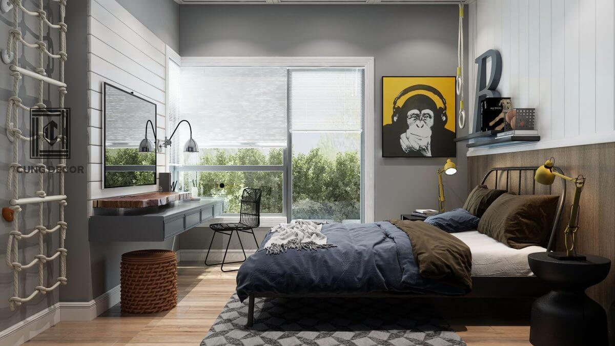 thiết kế phòng ngủ cho bé 7