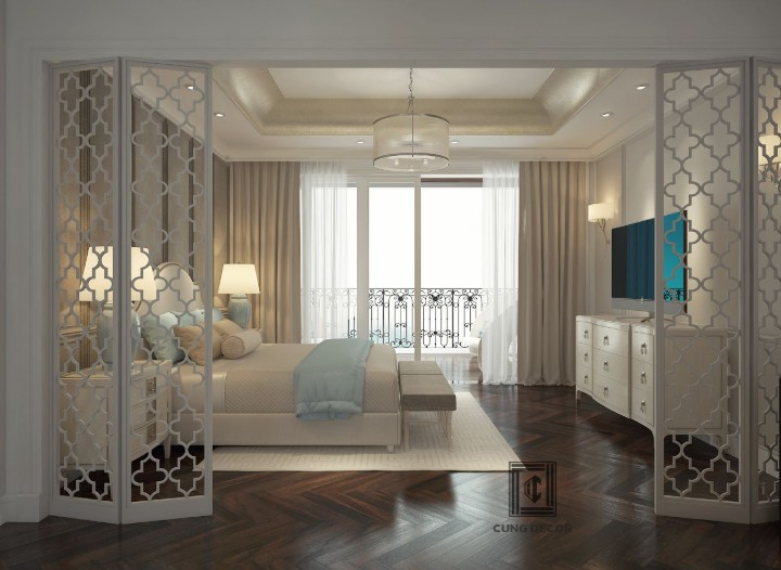 Thiết kế nội thất biệt thự tinh tế