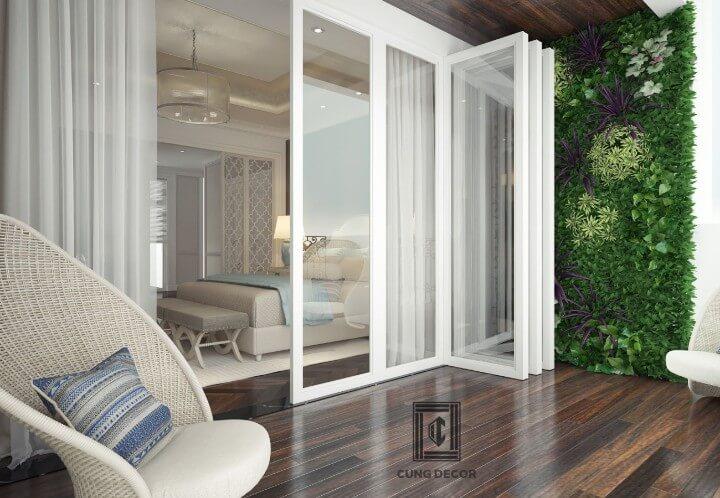 Thiết kế nội thất biệt thự đơn lập tinh tế