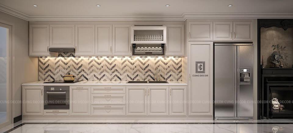phòng bếp căn hộ đẹp